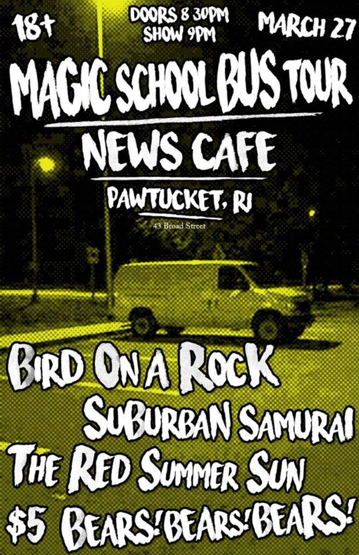 Bird On A Rock Tour Dates