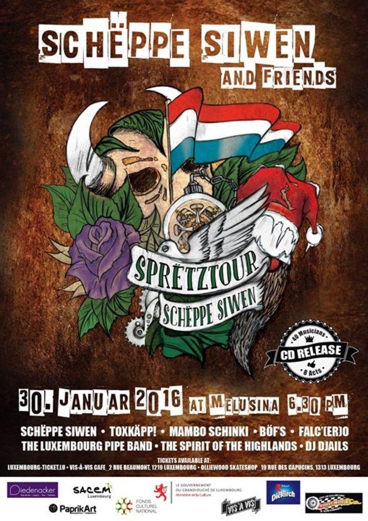 Schëppe Siwen Tour Dates