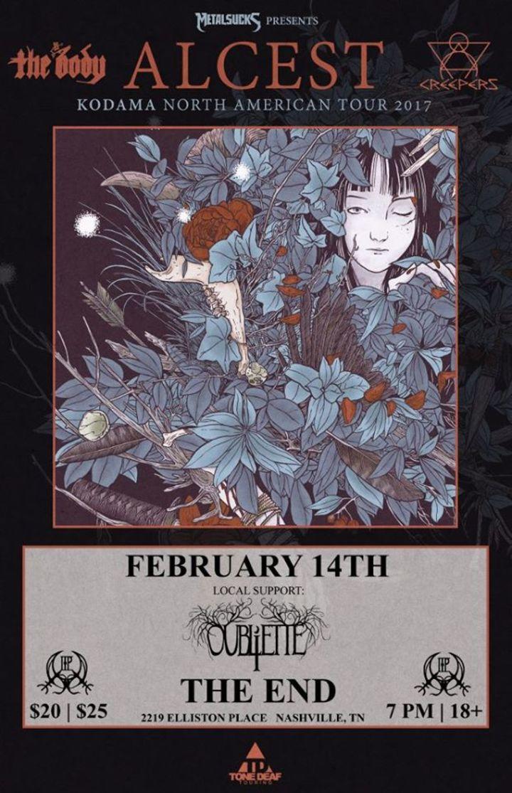 Oubliette Tour Dates