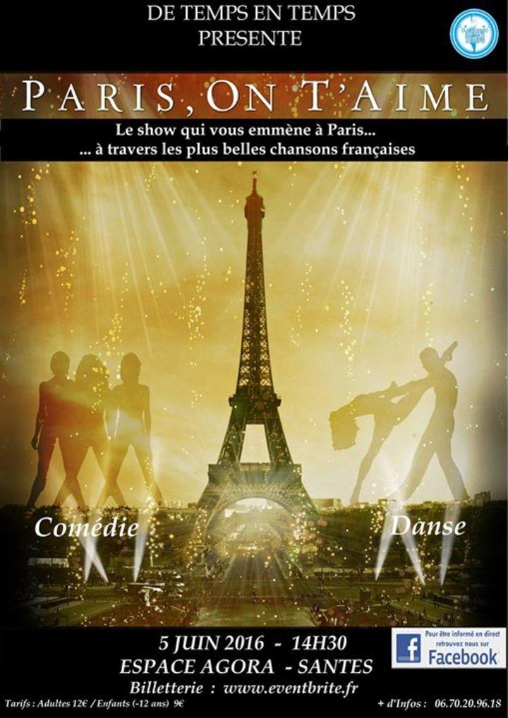 Paris On T'aime Tour Dates