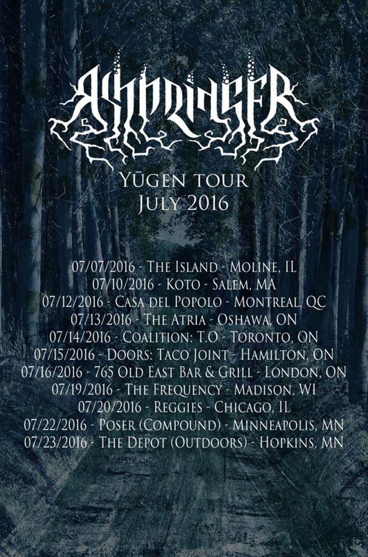 Ashbringer Tour Dates