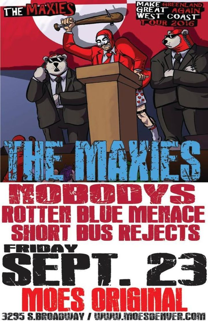 The Rotten Blue Menace Tour Dates