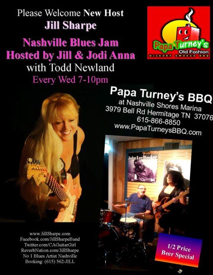 Nashville Blues Jam Tour Dates