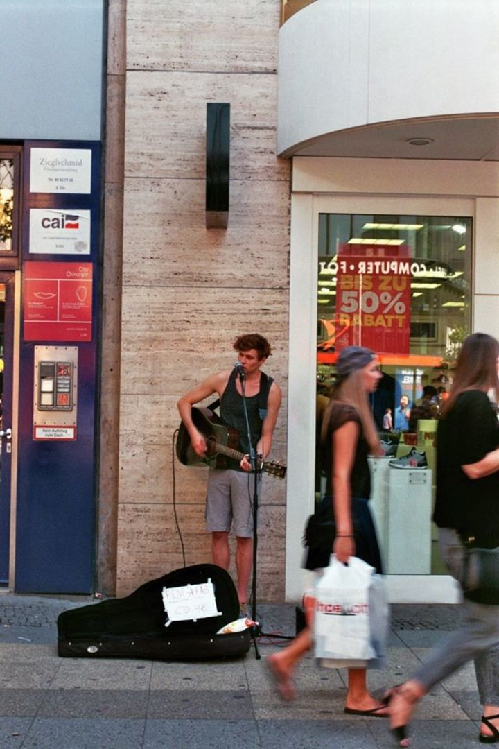 Rent-a-fab @ Singer // Songwriter // Lifesaver - Munich, Germany