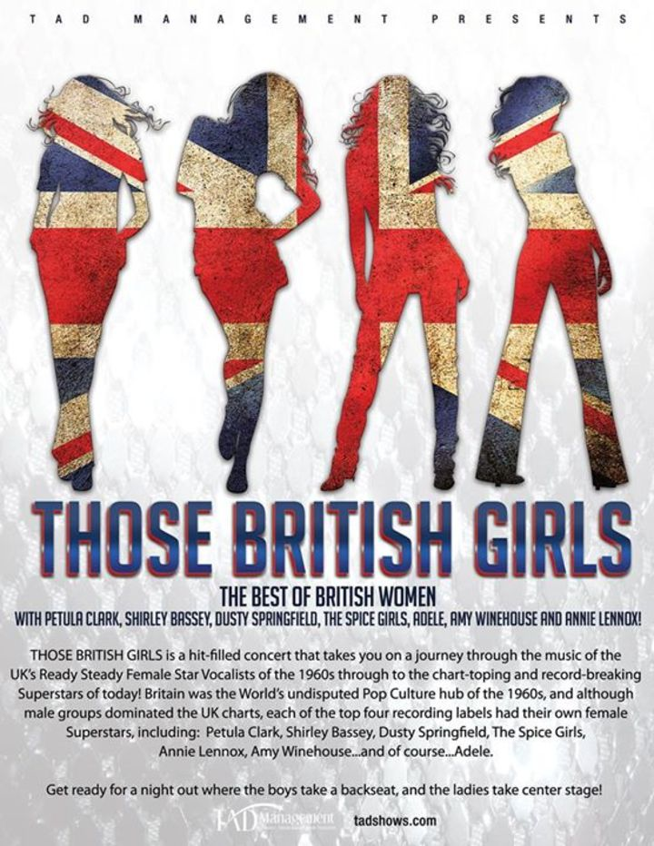 Those British Girls @ Yuma Arts Center - Yuma, AZ