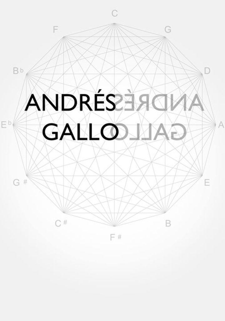Andrés Gallo Music Tour Dates