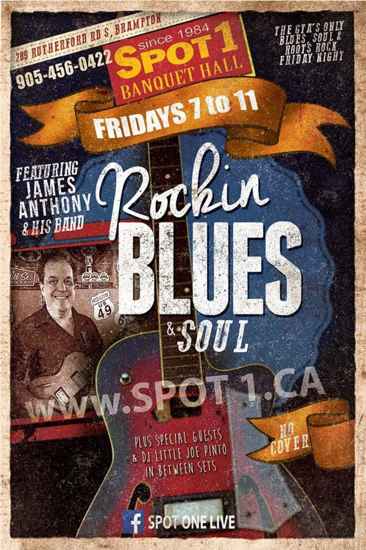 Rockabilly BLUES & SOUL at SPOT 1 GRILL & MUSIC HALL Tour Dates