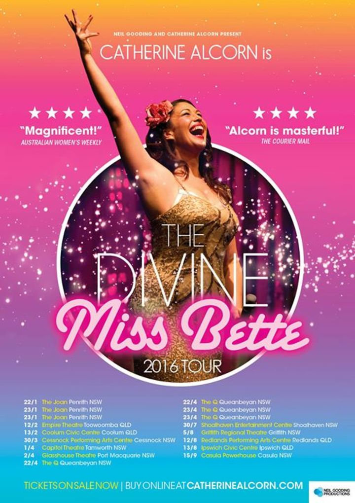 The Divine Miss Bette! Tour Dates