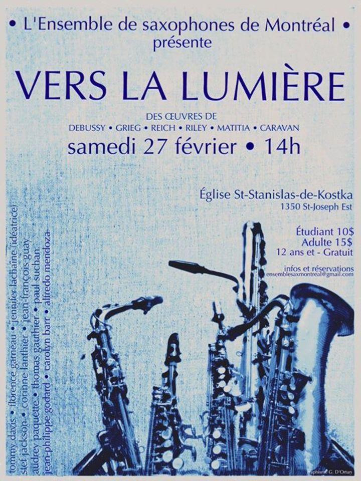 Ensemble de Saxophones de Montréal Tour Dates