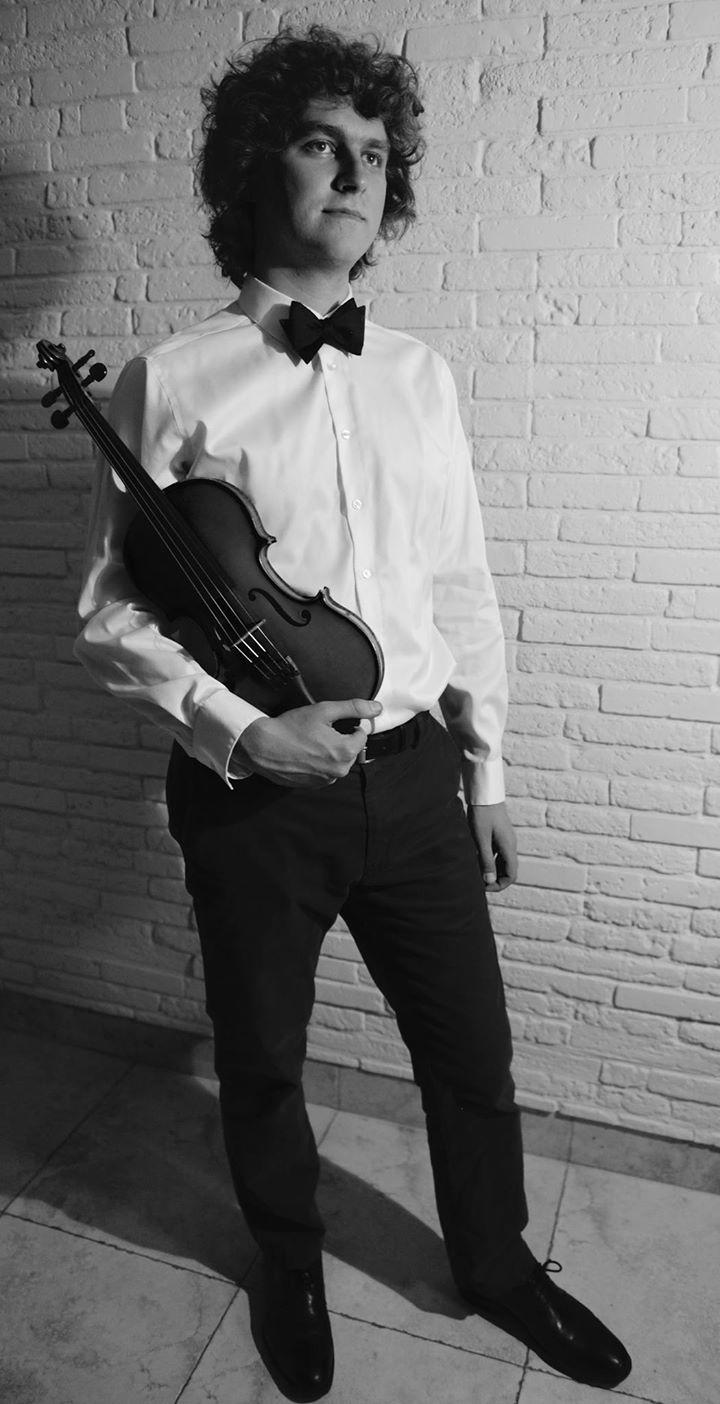 Daniel Zinn Violinist @ Mannes School of Music - New York, NY