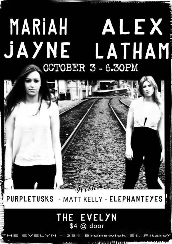 Mariah Jayne & Alex Latham LIVE Tour Dates