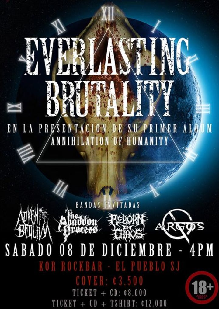 Everlasting Brutality Tour Dates