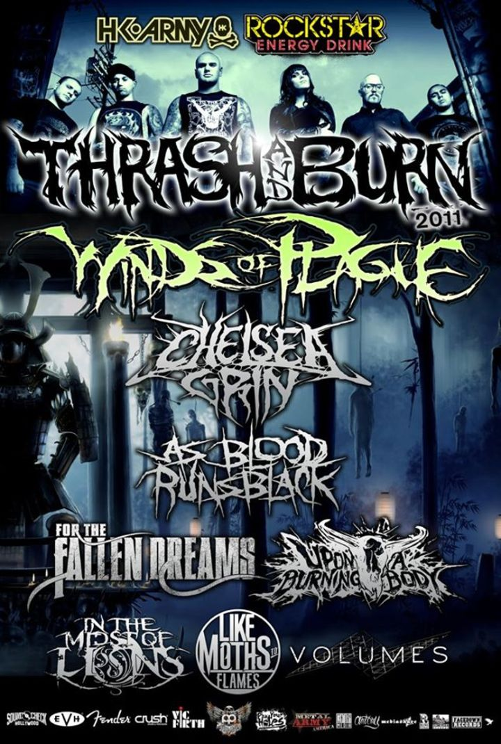 Thrash and Burn Tour Dates