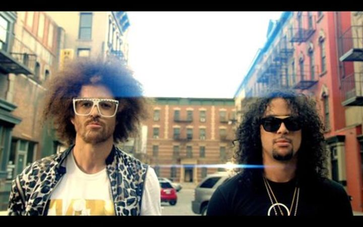 LMFAO @ Redfoo & The Party Rock Crew - Sapphires Club - New York, NY