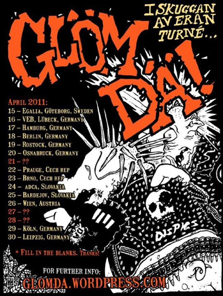 Glöm Dä Tour Dates