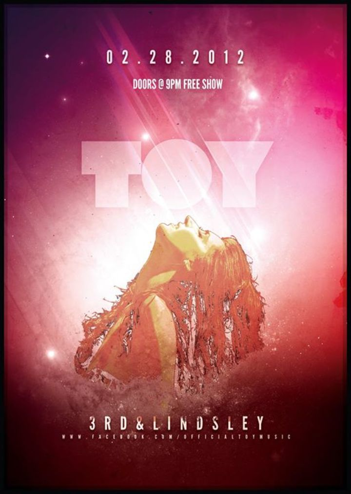 Toy Tour Dates