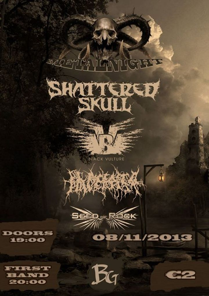 Shattered Skull Tour Dates