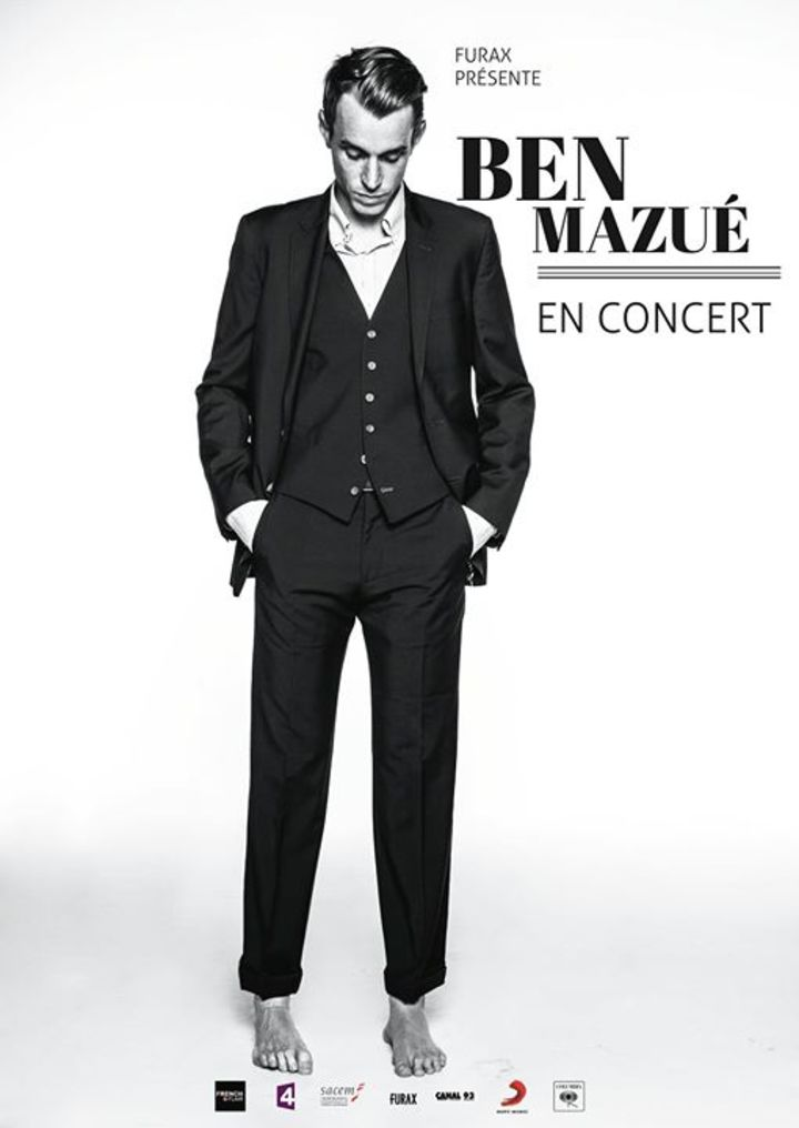 BEN MAZUE @ Théâtre Edgar - Paris, France