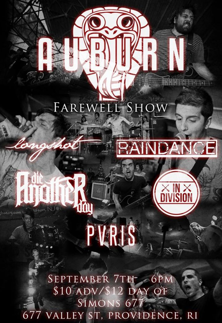 Auburn Tour Dates