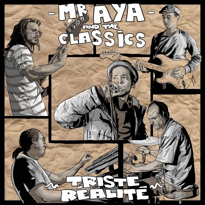 Mister Aya and The Classics Band Tour Dates
