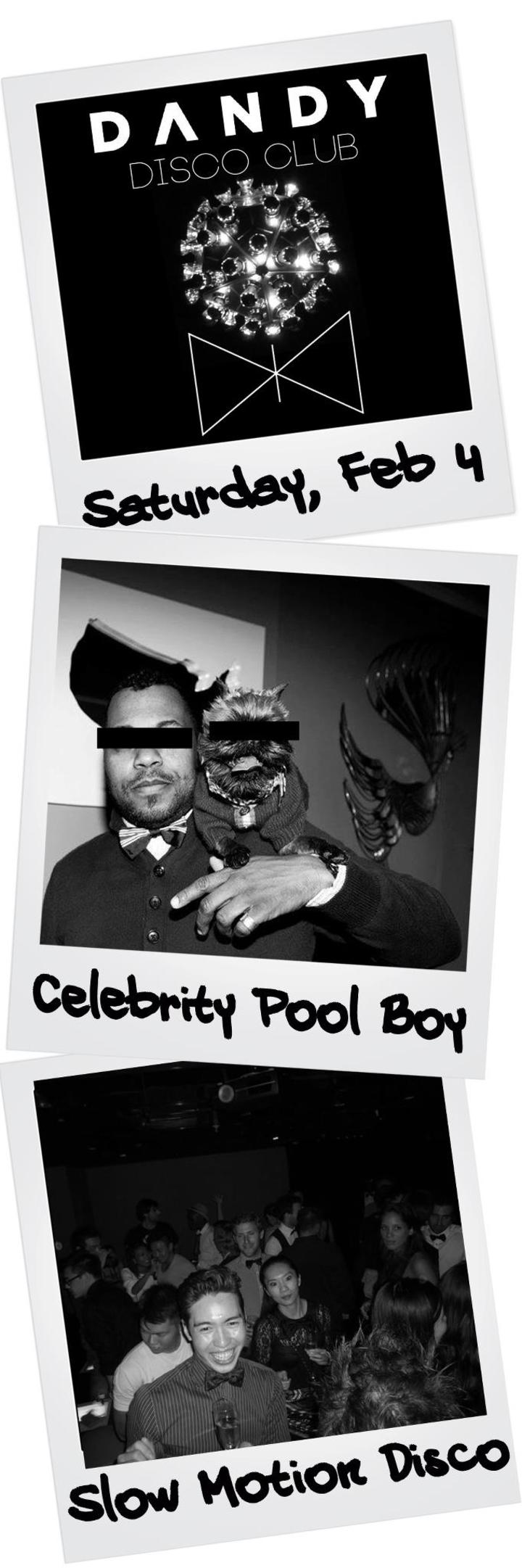 Celebrity Pool Boy Tour Dates