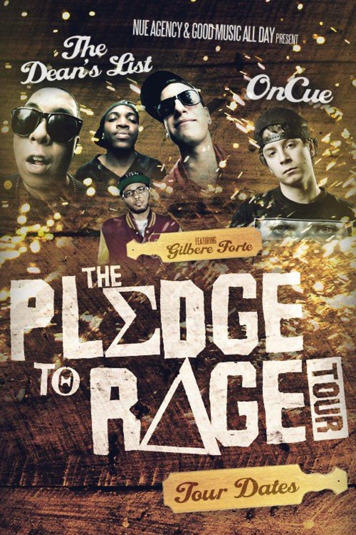 Pledge to Rage Tour Tour Dates