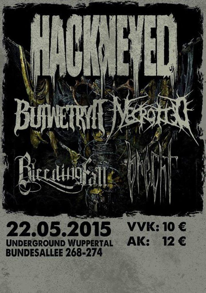 Bleeding fall Tour Dates