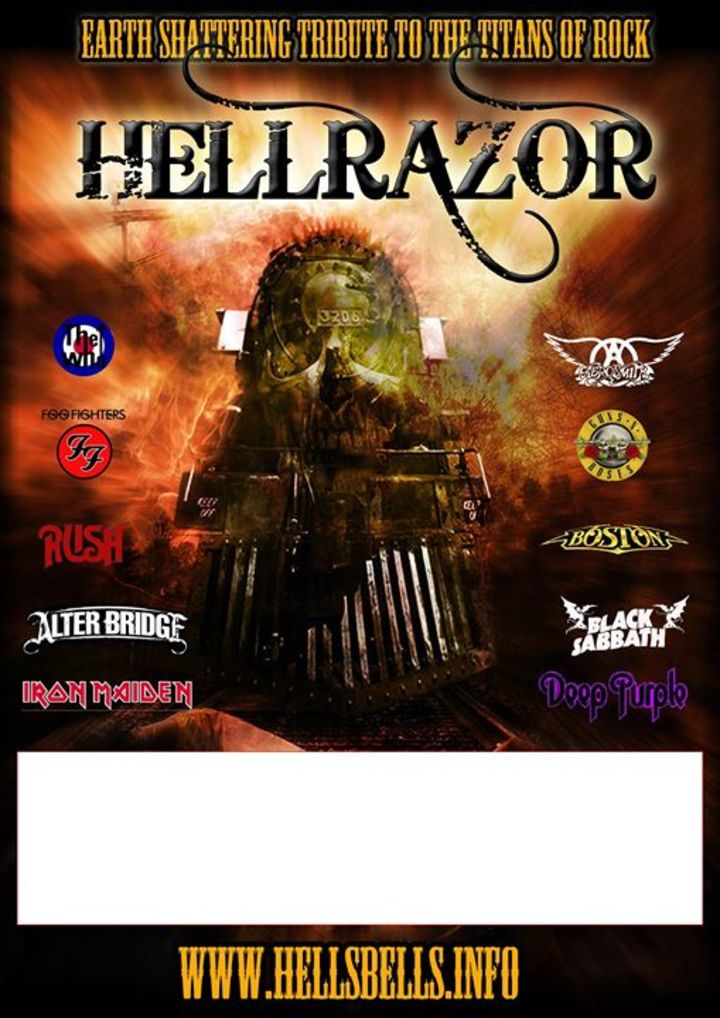 Hellrazor @ The Golden Lion, Fishponds  - Bishopston, United Kingdom