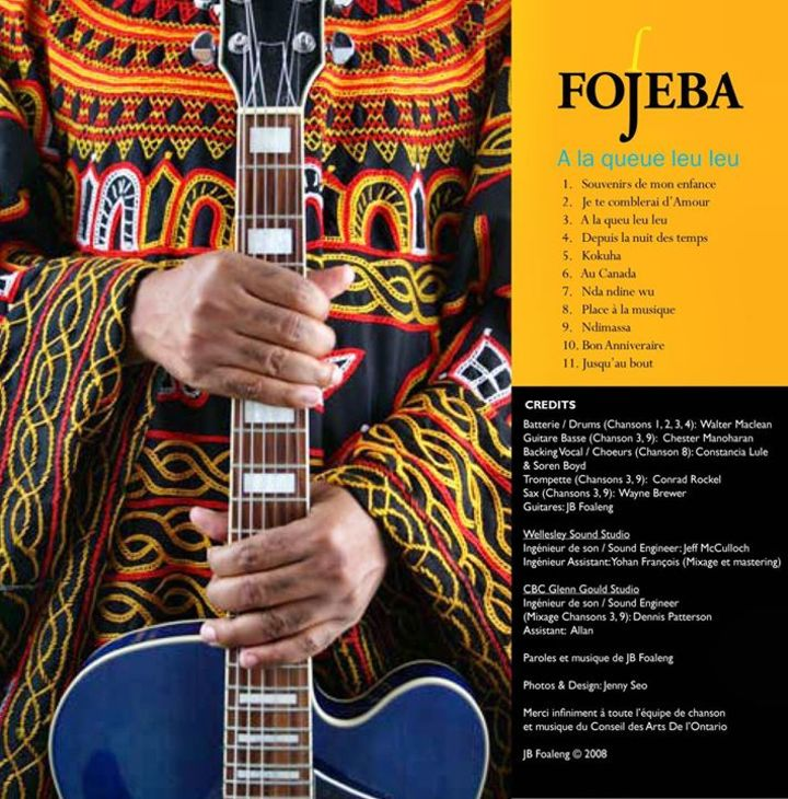 FOJEBA Tour Dates