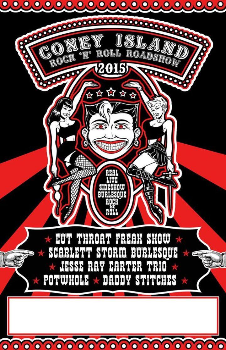 The Coney Island Rock n' Roll Roadshow Tour Dates