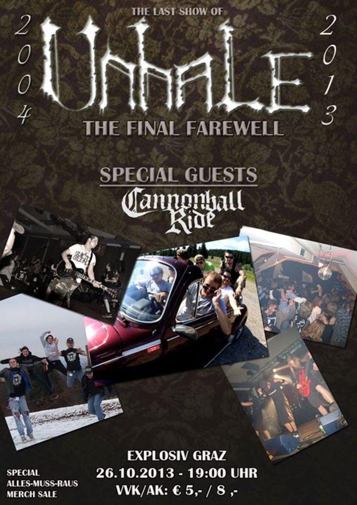 Unhale Tour Dates