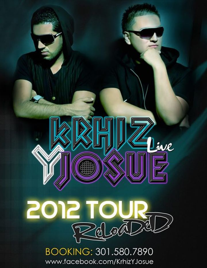 Krhiz Y Josue Tour Dates