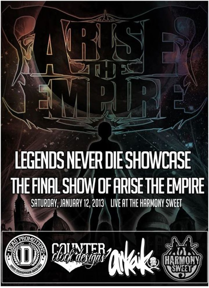 Arise the Empire Tour Dates