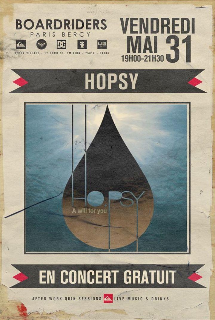HOPSY Tour Dates