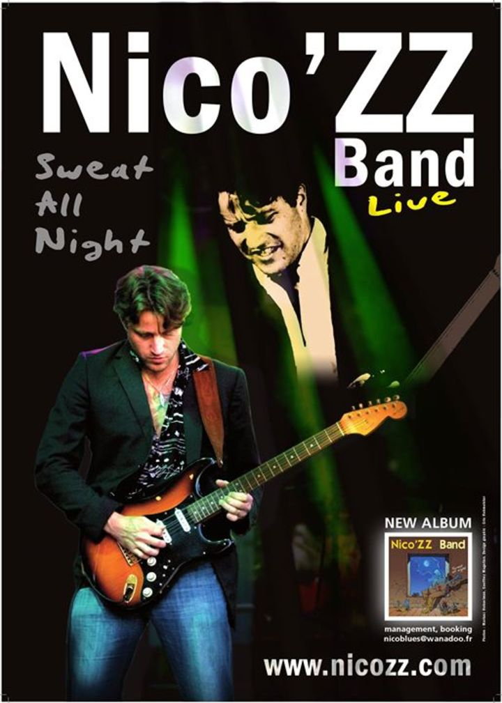 Nico'ZZ Band @ Kveten - Ostrov, Czech Republic