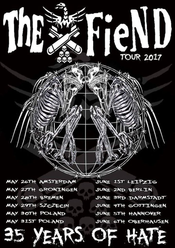 The Fiend Tour Dates
