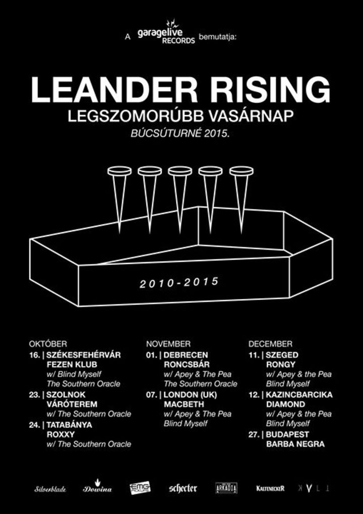 Leander Rising Tour Dates