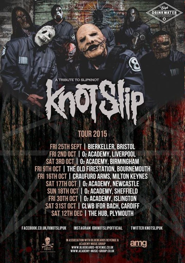 Knotslip (A tribute to Slipknot) Tour Dates