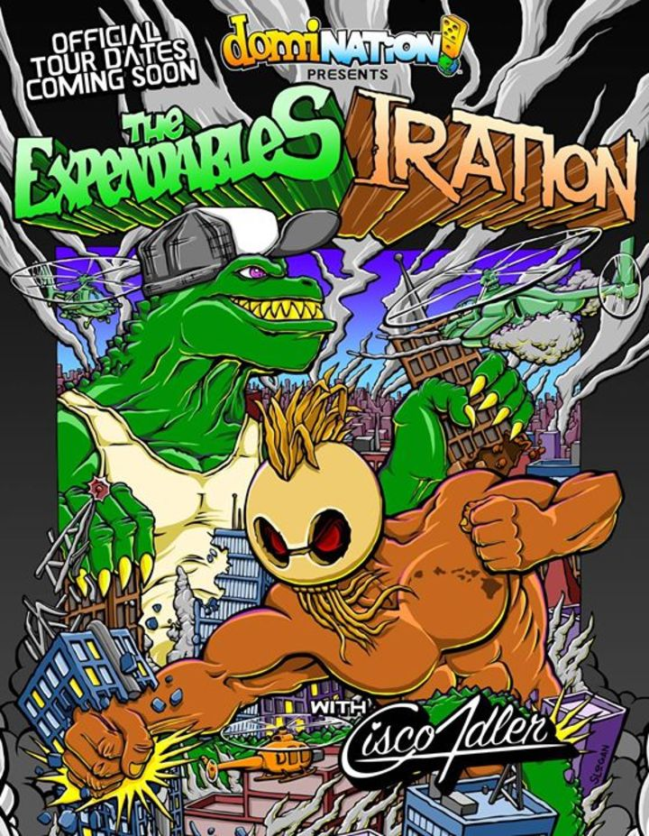 Domination! presents The Expendables and Iration Tour Dates