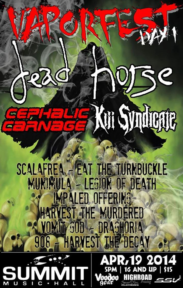 Kill Syndicate Tour Dates