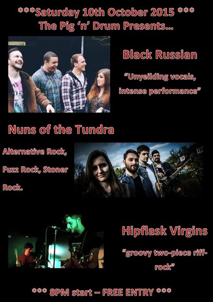 Black Russian Tour Dates