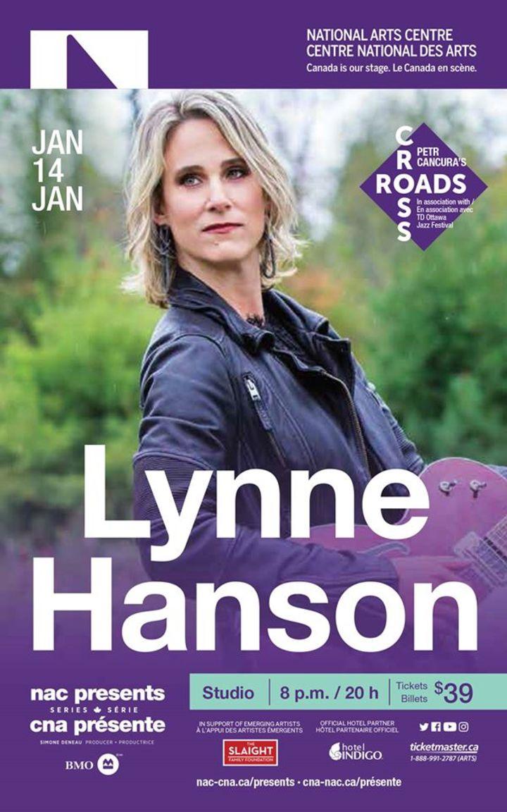 Lynne Hanson @ National Arts Centre / Centre national des Arts - Ottawa, Canada