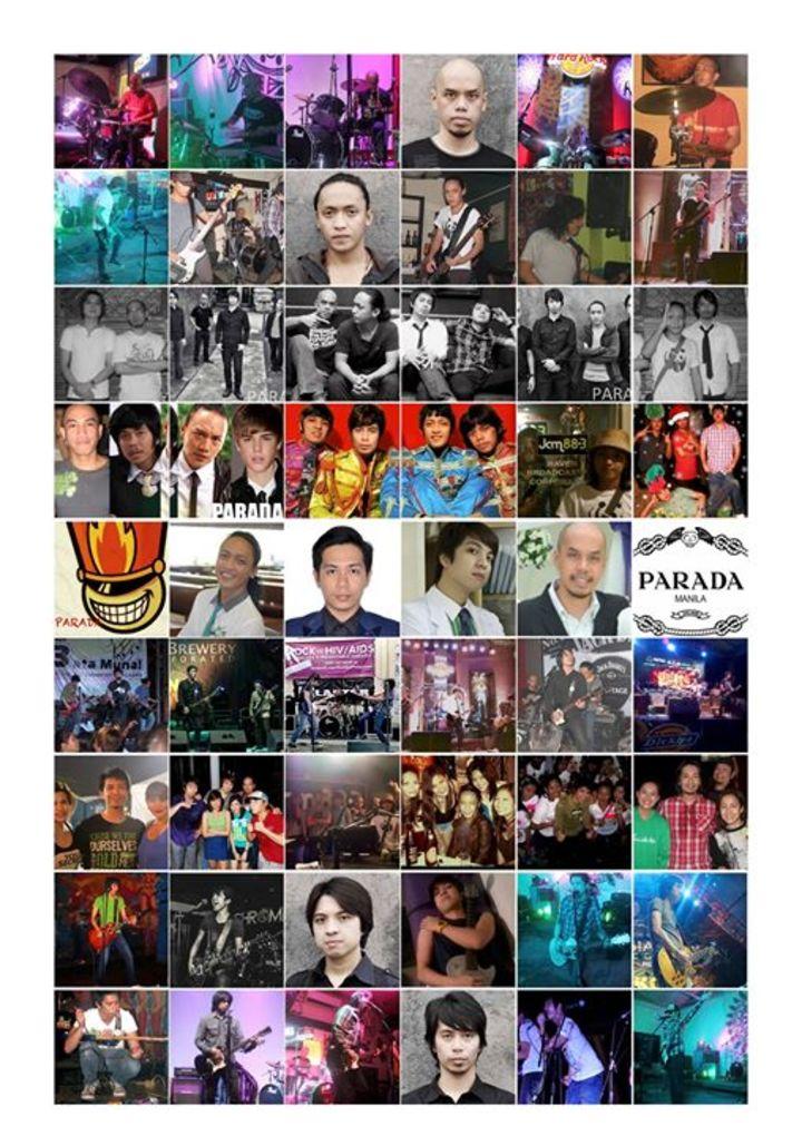 Parada Tour Dates