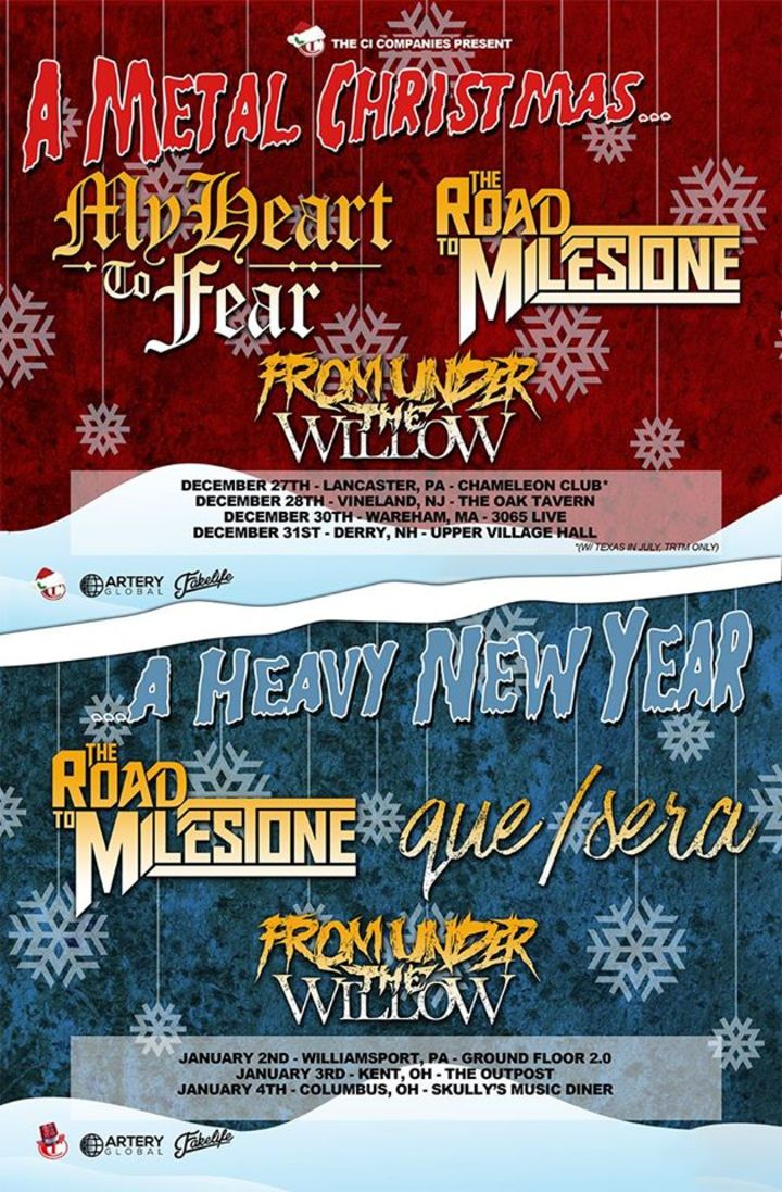 A Metal Christmas & A Heavy New Year Tour Tour Dates
