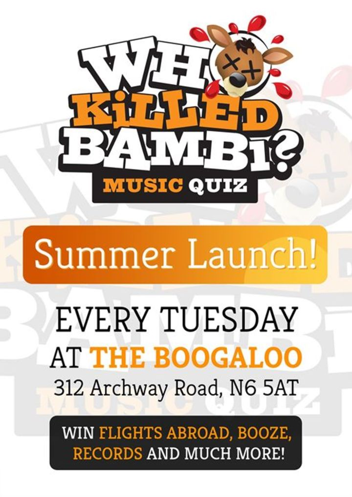 The Boogaloo Tour Dates