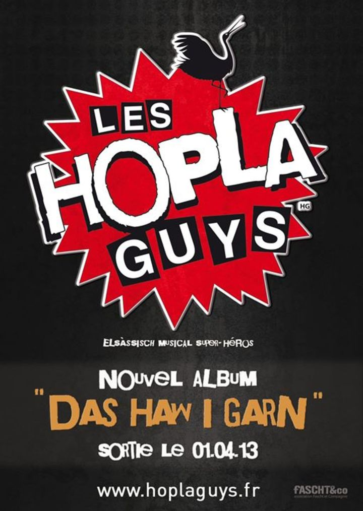 Les Hopla Guys Tour Dates