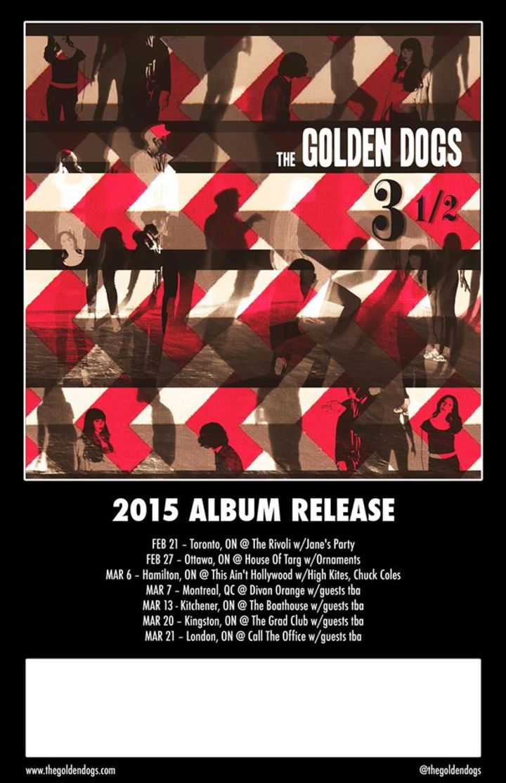 The Golden Dogs Tour Dates