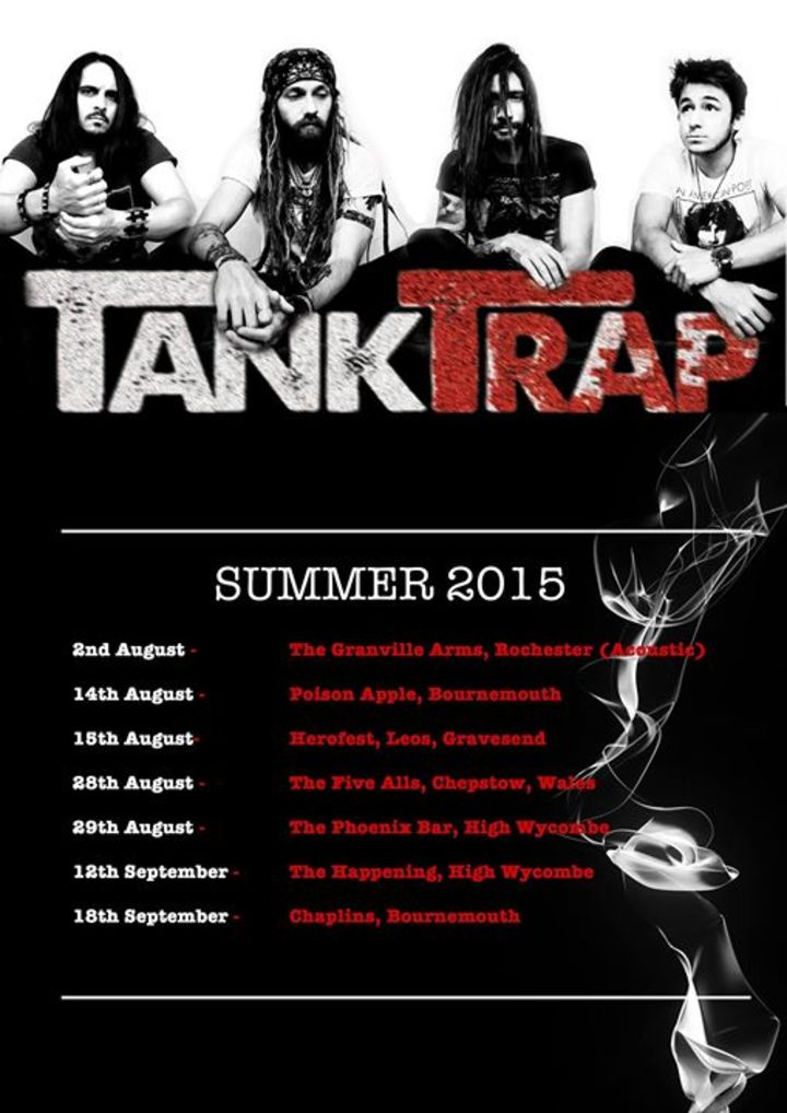 Tank Trap Tour Dates