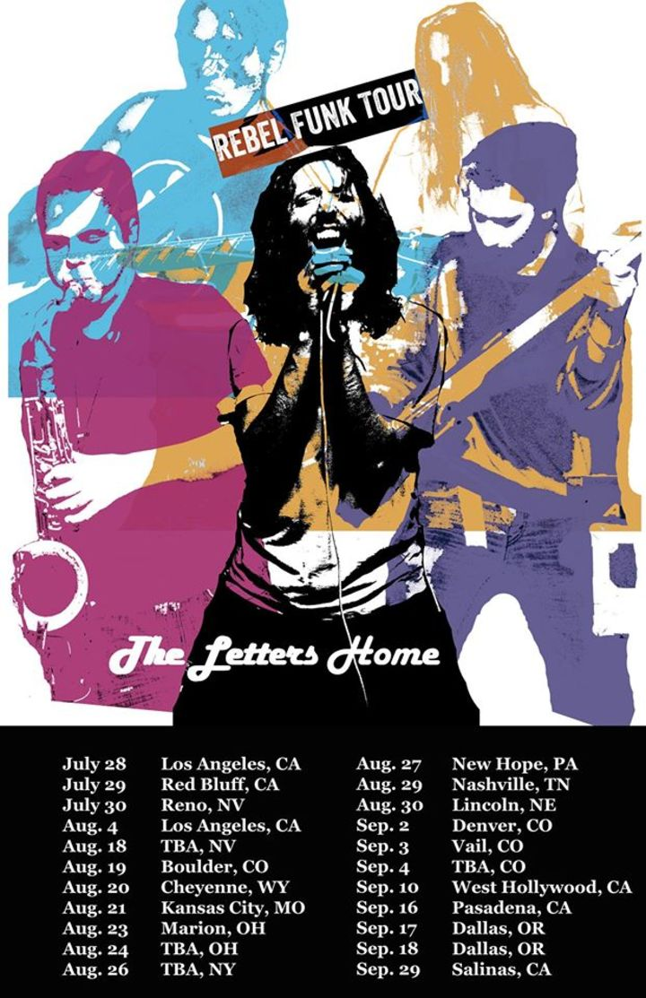 The Letters Home Tour Dates