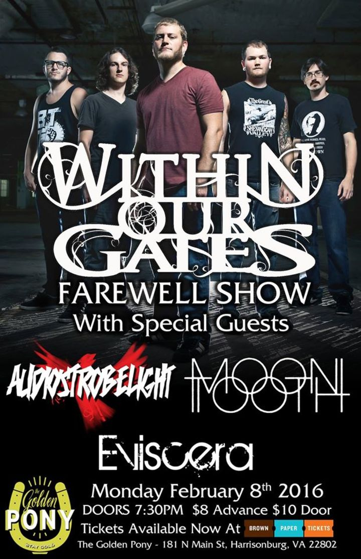 Within Our Gates Tour Dates